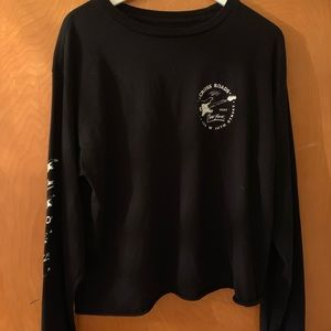 Brandy Melville, Rock 'n' Roll Long Sleeve T-Shirt